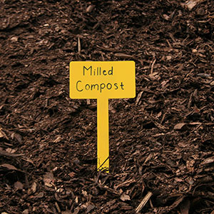 Milled Compost